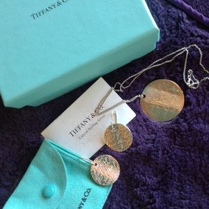 "Tiffany & Co. ""LoveNotes"" Necklace & Earring Set💠"